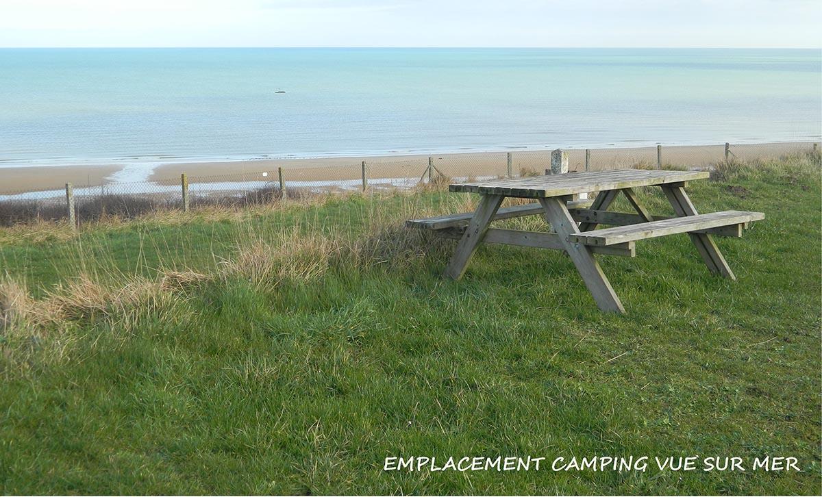omaha beach camping