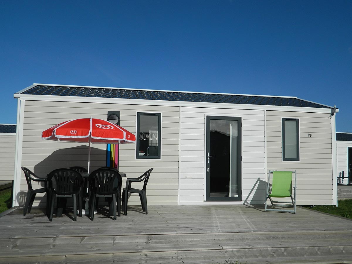 IRM ibiza duo 2 chambres Terrasse gamme standard camping omaha beach